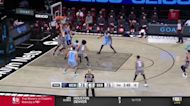 Jarrett Allen with an and one vs the Memphis Grizzlies