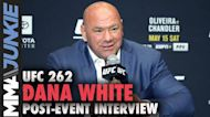 Dana White trashes Triller, talks Tony Ferguson's future, more after UFC 262