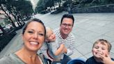 Dylan Dreyer Enjoys 'First Family Walk' with All 3 Sons, Including Newborn Baby Russell