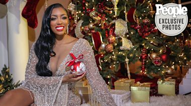 RHOA 's Porsha Williams Shows Off Her Epic Holiday Decor: 'They Call Me the Queen of Christmas'