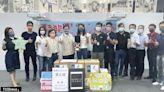 賈永婕捐臺南消防局喉頭鏡 提升患者存活率