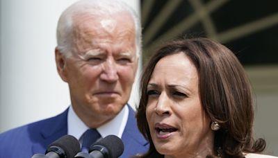 Joe Biden and Kamala Harris approval ratings dip in new California poll