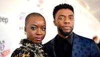 Danai Gurira pays tribute to Black Panther costar Chadwick Boseman: 'How do you honor a king?'
