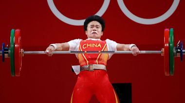 東京奧運︱中國金牌好事成雙 侯志慧在49公斤級女子舉重紀錄奪金