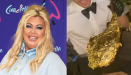Gemma Collins spends £700 on gold-covered steak at Salt Bae's restaurant