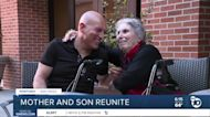 San Diego mom and son reunite after year apart