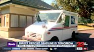 Direct deposit deadline for stimulus checks is Wednesday