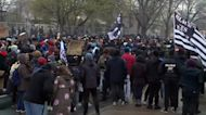 Protesters gather for third night after shooting death of Daunte Wright