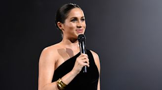 Meghan Markle Just Made a Surprise Appearance at the Fashion Awards for a Very Cute Reason