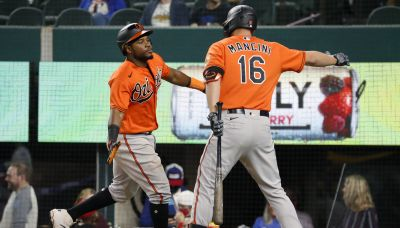 No relief: Orioles score late off Rangers pen in 6-1 victory