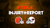 Browns Vs. Cardinals: Final injury report with 10 Browns questionable