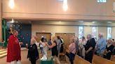 Parishioners participate in last Mass atSt. Bartholomew Church in Penn Hills