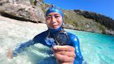恆重下潛102公尺 古雲傑再寫台灣「自由潛水」新紀錄