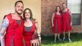 Man fulfils wholesome promise to wear same dress as sister to graduation
