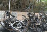 爆炸聲頻傳! 電動機車疑自燃 延燒18機車、3單車