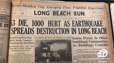 Then and now: Remembering the 1933 Long Beach earthquake
