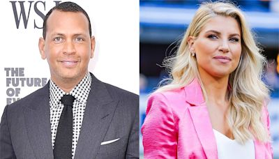 Alex Rodriguez and Melanie Collins Are Almost Twinning on St. Tropez Vacation