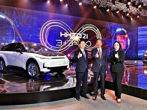 鴻海X裕隆全新自主研發電動車亮相!Model C休旅車(百萬元內)、Model E轎車2023第四季面市