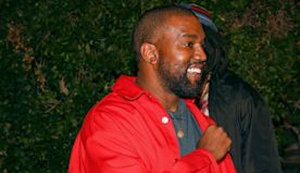Kanye West Celebrated Levi's New Collab in L.A.