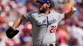 Kershaw 1st win since June, streaking Dodgers top shaky Reds