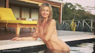 Paulina Porizkova posts topless throwback vacation photo during coronavirus quarantine
