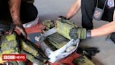 Cocaine worth $500m found hidden in charcoal shipment