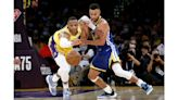 New-look Lakers fall to Warriors as Russell Westbrook struggles in debut