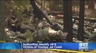 All 6 Victims In Truckee Jet Crash Identified