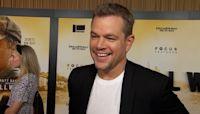 Matt Damon Jokes About Working While Ben Affleck Enjoys St. Tropez With Jennifer Lopez: 'It's ...