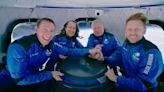 Fact check: Image showing Shatner, Bezos in matching space jackets is altered, not proof of hoax