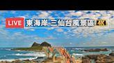 颱風烟花掀起浪花 東管處即時影像觀浪精彩又安全[影]