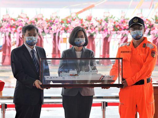 蔡總統:落實國艦國造 捍衛藍色國土
