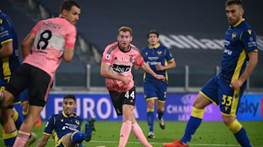 Kulusevski rescues point for Juventus against Verona