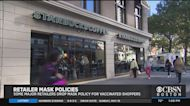 Some Major Retailers Drop Mask Policy For Vaccinated Shoppers