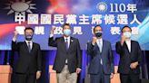 蔡詩萍:四人爭國民黨主席演給北京看