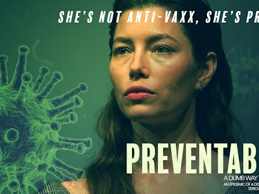 Jessica Biel's Anti-Vax Activism Won't Age As Well As 'I Now Pronounce You Chuck & Larry'