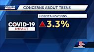 If not vaccinated, teens should continue to wear masks, CDC head says