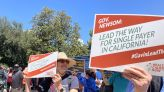 Health Care Unions Defending Newsom From Recall Will Want Single-Payer Payback