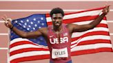 Noah Lyles on Winning Bronze After Tough Year: 'Just Because I'm Struggling Doesn't Mean I'm Going to Quit'
