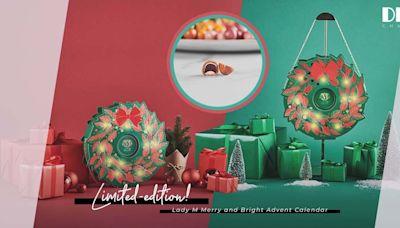 Lady M聖誕花環倒數日曆禮盒,讓絲絲甜蜜與驚喜點綴每一天