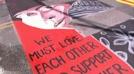 Officers sue Palo Alto over Black Lives Matter mural