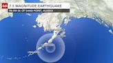 Magnitude 7.4 earthquake in Alaska sparks tsunami warning