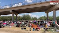 Thousands of Migrants Swelter in Makeshift Tents and Slum Conditions at Del Rio Bridge