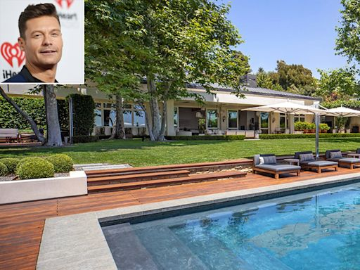 Ryan Seacrest Is Selling His Massive Beverly Hills Home for $85 Million