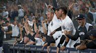 Yankees' four-run 8th inning