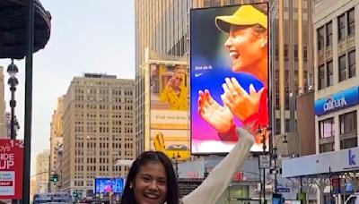 網球》拉杜卡努正在申請自己的商標 向10億英鎊之路邁進