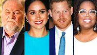 """Meghan Markle's Dad Claims Oprah """"Took Advantage"""" of Prince Harry"""