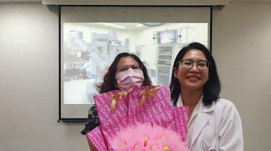 子宮肌瘤大如哈蜜瓜 達文西手術2天即出院