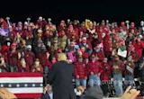 Trump Throws Hats Into Crowd at Rally One Day Ahead of Positive COVID-19 Diagnosis