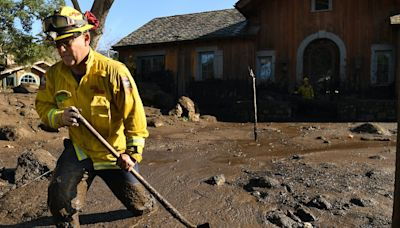 Evacuations ordered as a powerful storm heads for California's wildfire burn scars, raising risk of mudslides – this is what cascading climate disasters look like